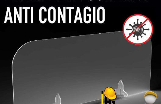 Protezioni anti contagio affidabili ed economiche per uffici, reception e ristoranti