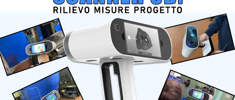 SCANNER 3D: rilievo misure progetto