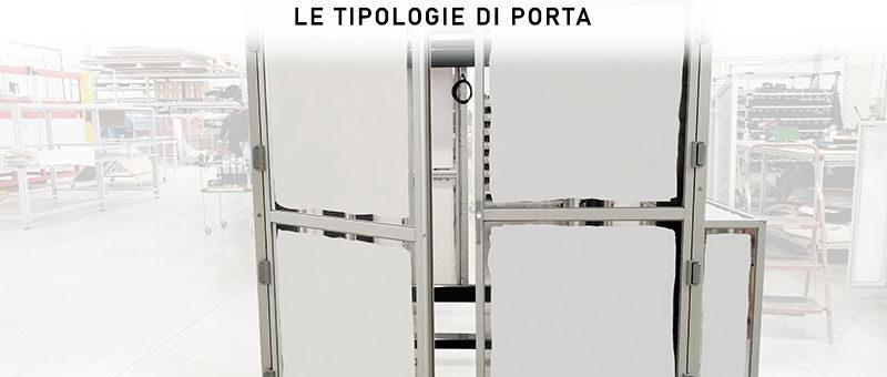 APERTURA DELLE PORTE: le tipologie di porta