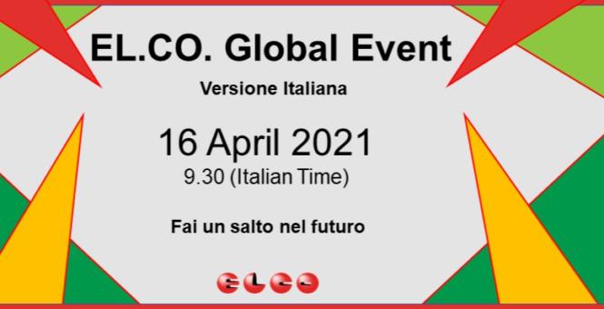 Webinar Elco 16 Aprile 2021 – Ore 9:30
