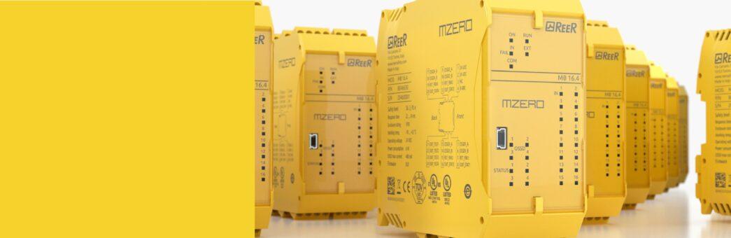 MZERO: il nuovo controllore di sicurezza configurabile stand-alone